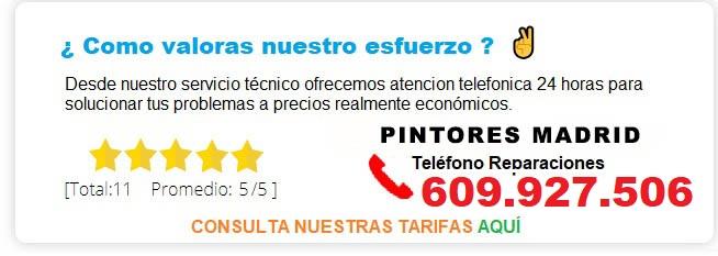 PINTORES MADRID PRECIOS
